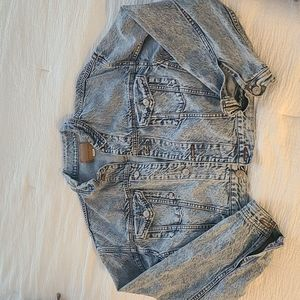 AE Cropped Denim jacket